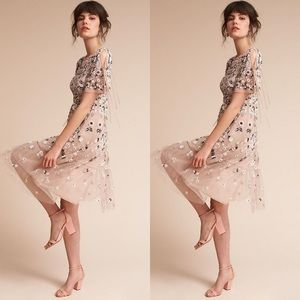 Anthropologie x Needle & Thread Bobbi Dress